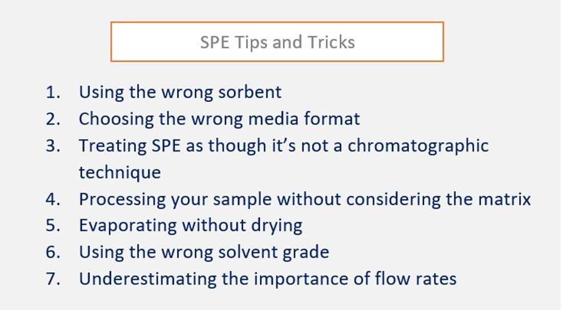 SPE Tips and Tricks