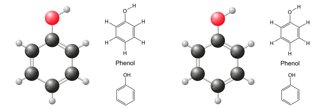 EPA Method 8270/625.1, Phenol, extractions